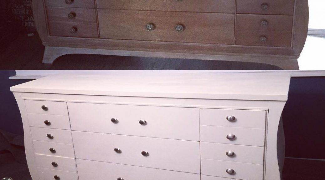 Buffet Dresser In Dining Room Chalk Paint